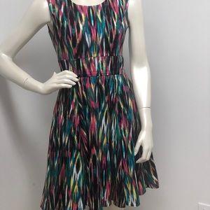Calvin Klein Colourful Party/ Cocktail Dress